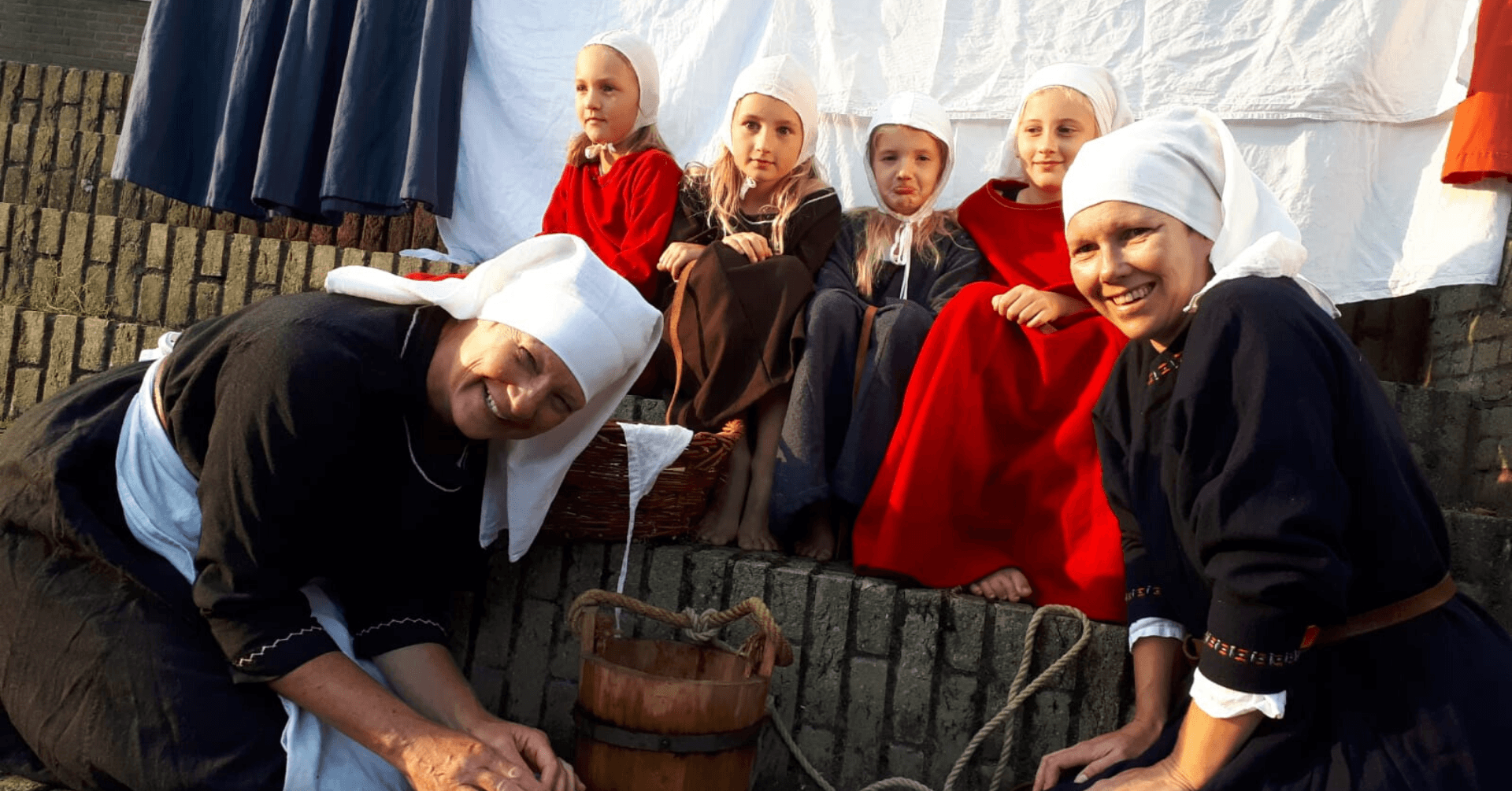 Kasteel Radboud Educatiefilm wasvrouwen