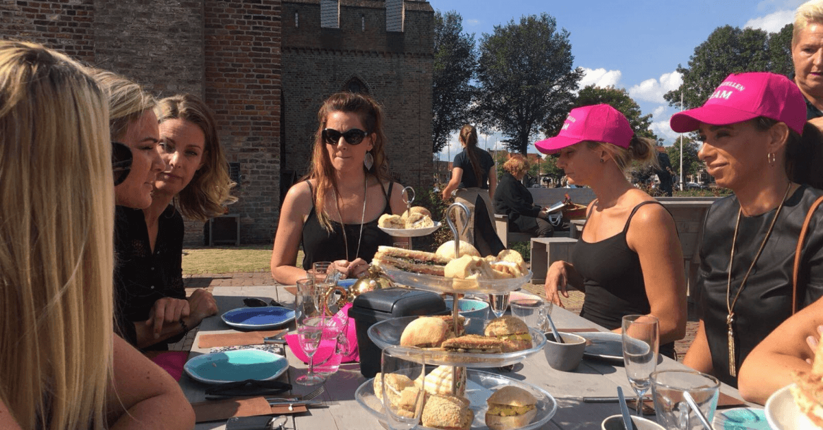 Kasteel Radboud Kasteel Cafe Terras high tea