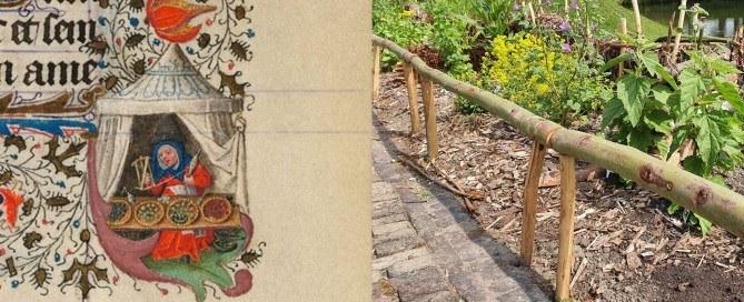 Verhalen van Kasteel Radboud - Kruidenvrouw Lobrecht Aerntsdochter en kruidentuin