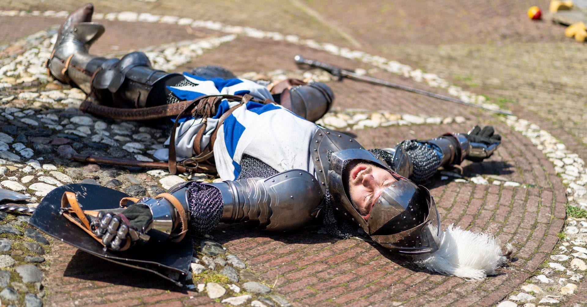 Kasteel Radboud Moord op het kasteel Foto Pascal van As