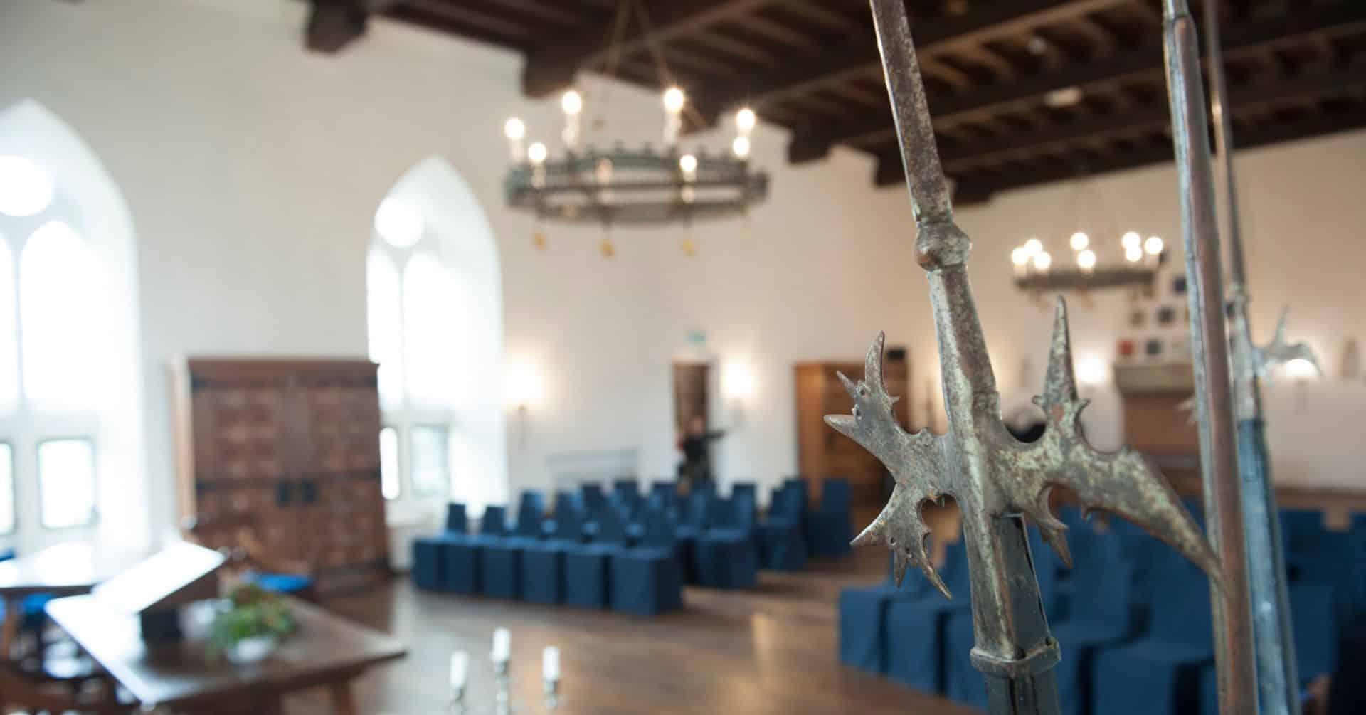Kasteel Radboud Ridderzaal in perspectief foto Duco de Vries