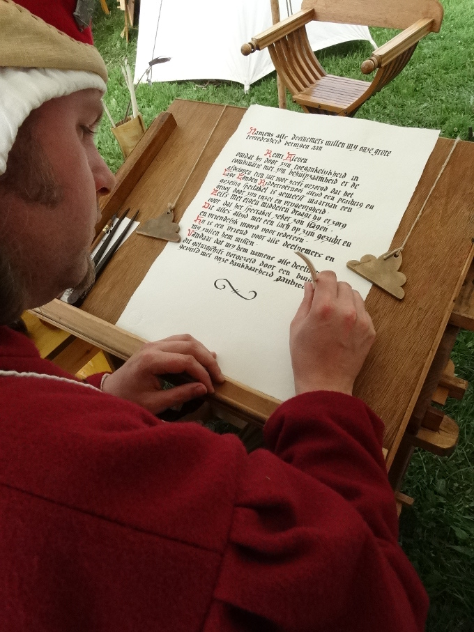 Kasteel Radboud-Workshop Kalligrafie-Foto door Marius Bruijn Doornenburg7