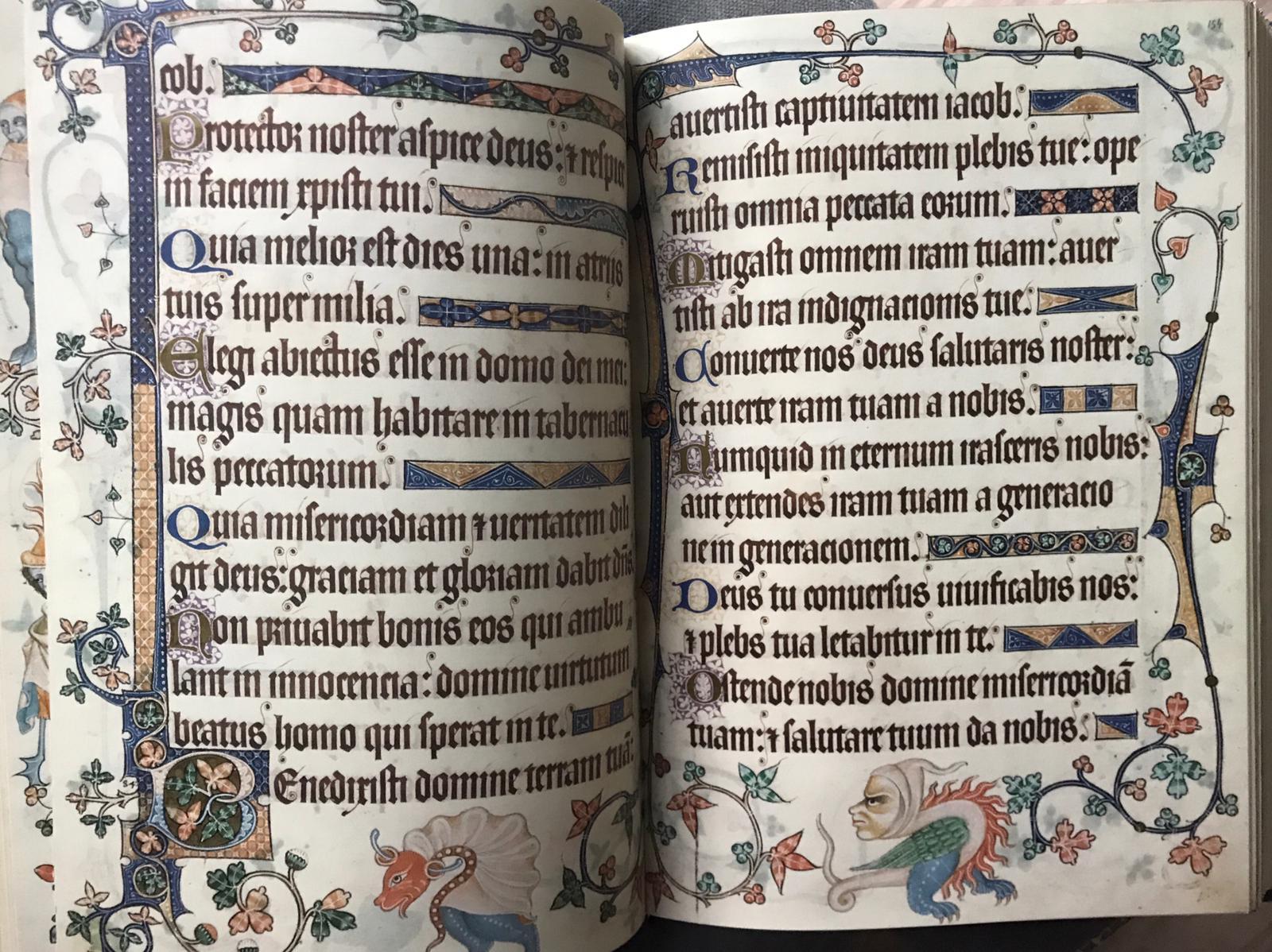 Kasteel Radboud - bladzijdes uit getijdenboek